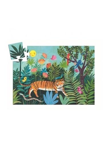 Djeco Djeco Dekoratif Puzzle 24 Parça The Tigers Walk Pembe